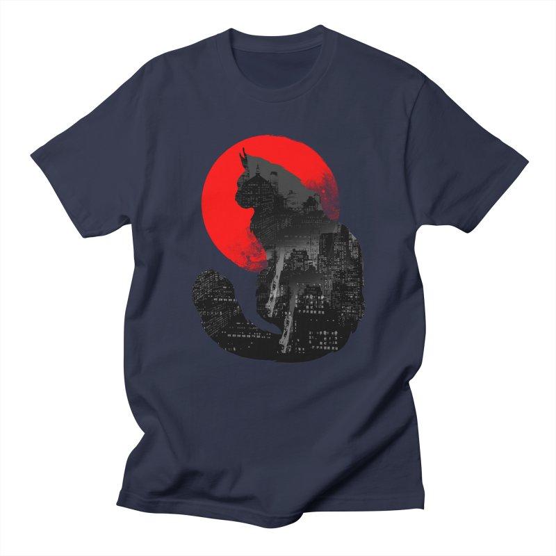 Urban Cat Men's T-shirt by clingcling's Artist Shop