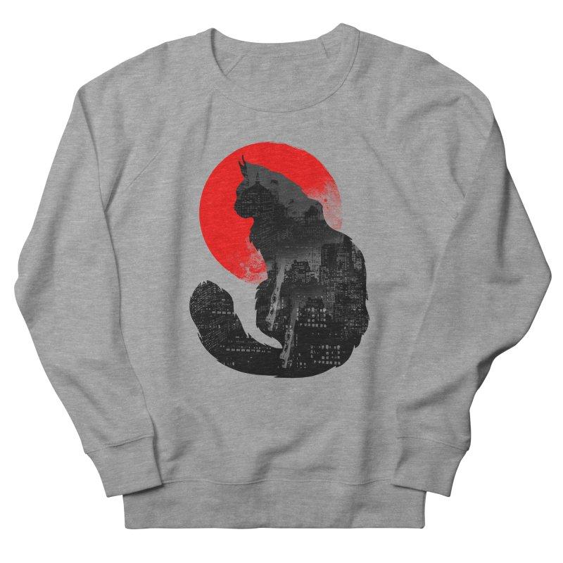 Urban Cat Men's Sweatshirt by clingcling's Artist Shop