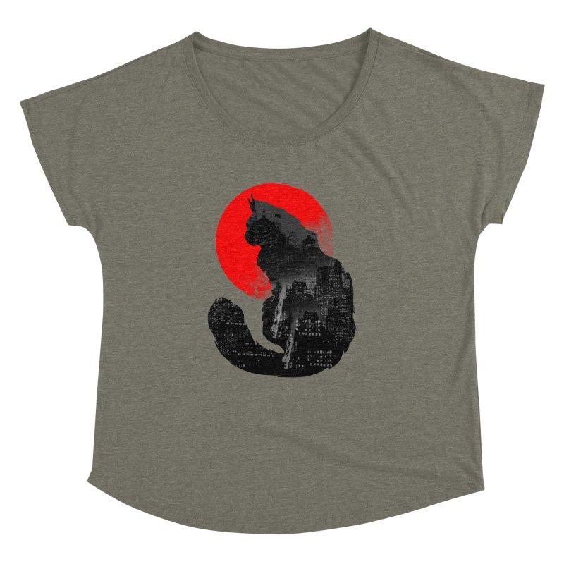Urban Cat Women's Dolman by clingcling's Artist Shop