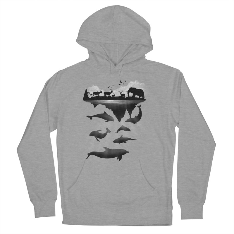 Wild Life Men's Pullover Hoody by clingcling's Artist Shop
