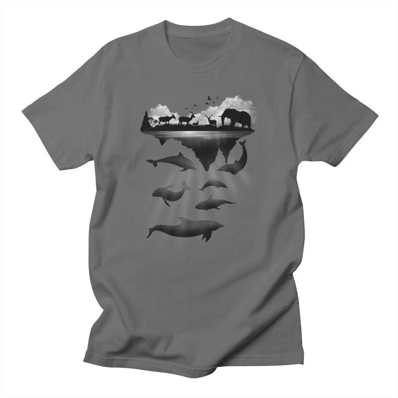 Wild Life Men's T-shirt by clingcling's Artist Shop