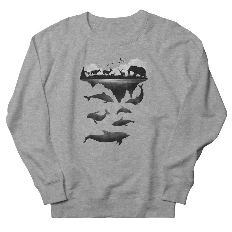 Wild Life Men's Sweatshirt by clingcling's Artist Shop