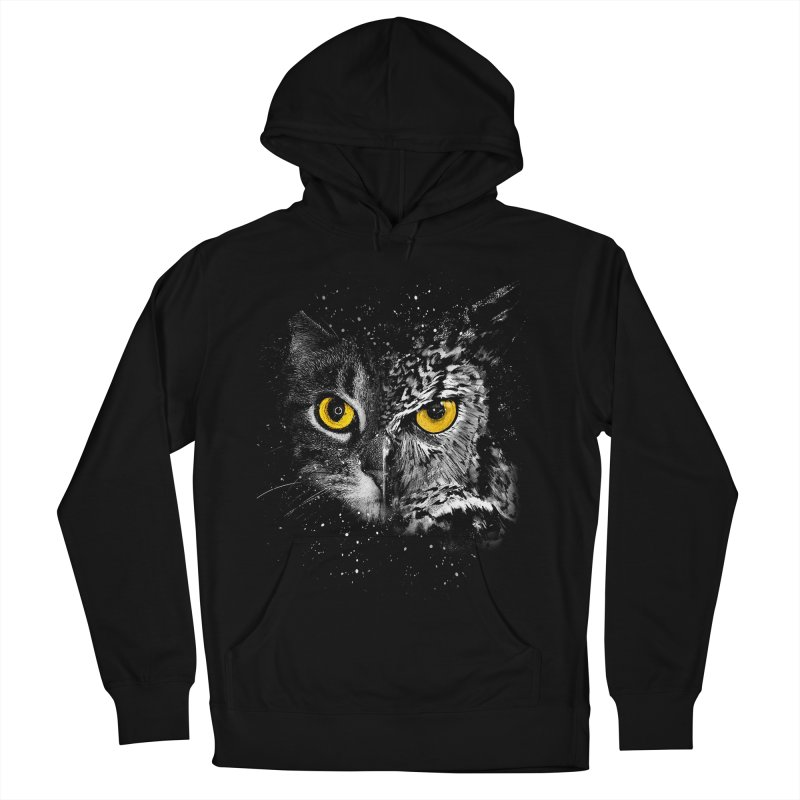 Two Face Men's Pullover Hoody by clingcling's Artist Shop