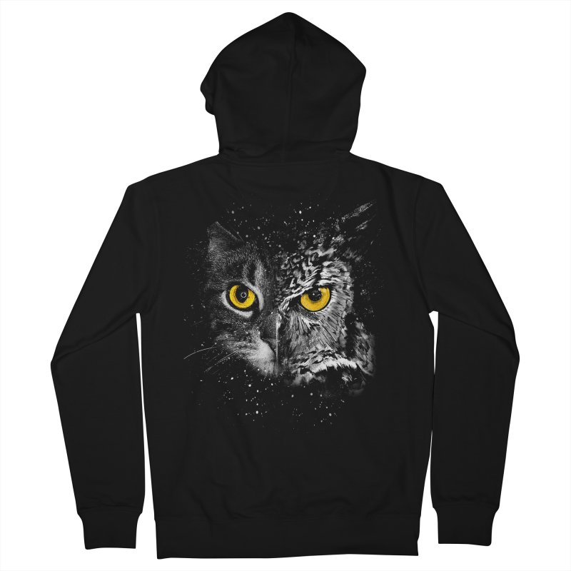Two Face Men's Zip-Up Hoody by clingcling's Artist Shop