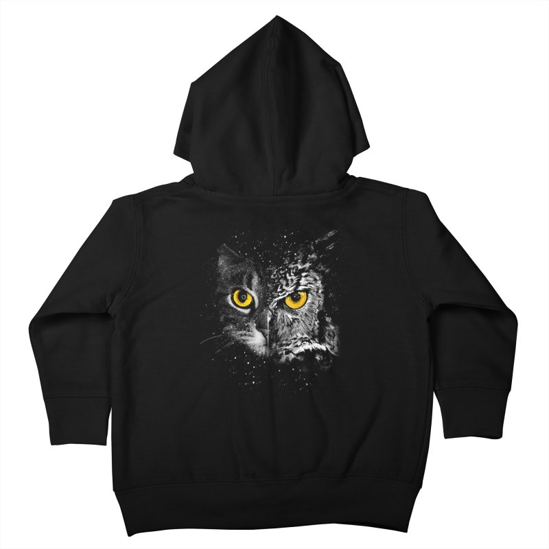 Two Face Kids Toddler Zip-Up Hoody by clingcling's Artist Shop