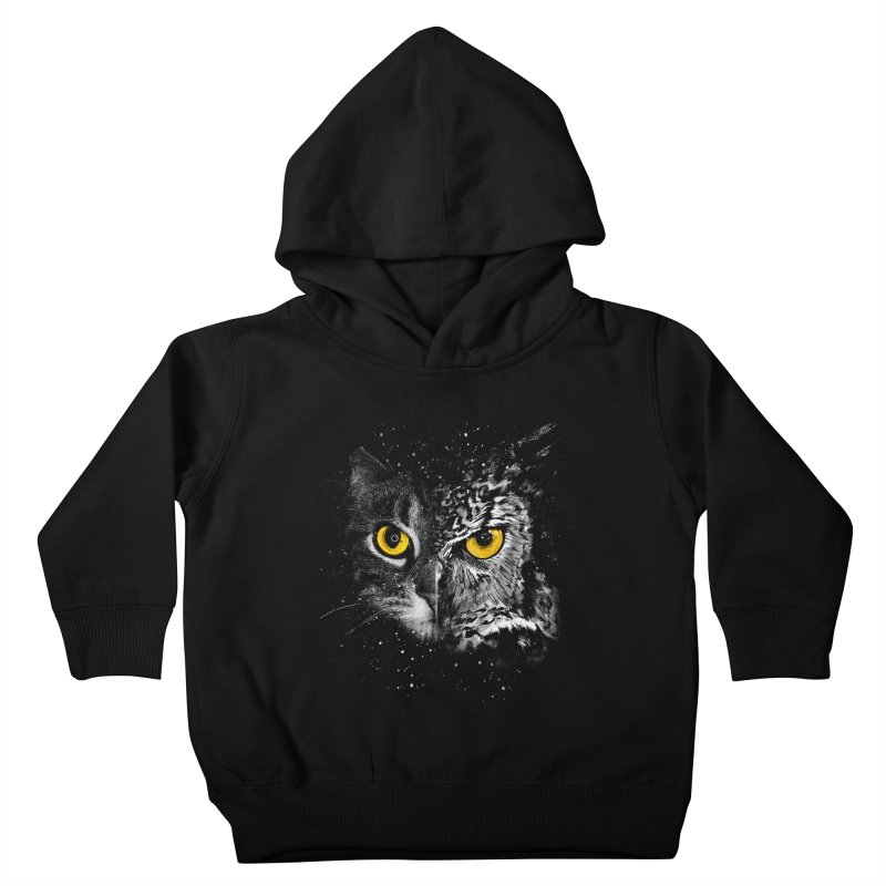 Two Face Kids Toddler Pullover Hoody by clingcling's Artist Shop