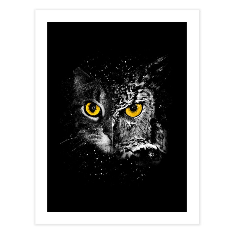 Two Face Home Fine Art Print by clingcling's Artist Shop