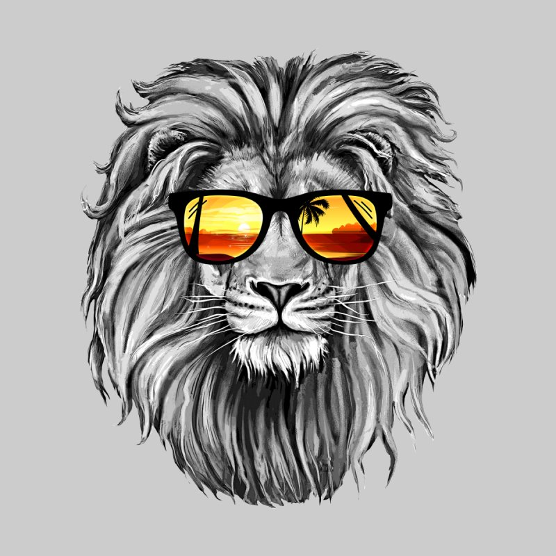 Summer Lion None  by clingcling's Artist Shop