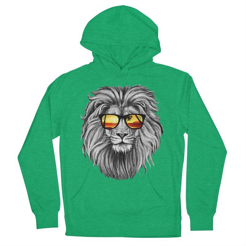 Summer Lion Women's Pullover Hoody by clingcling's Artist Shop