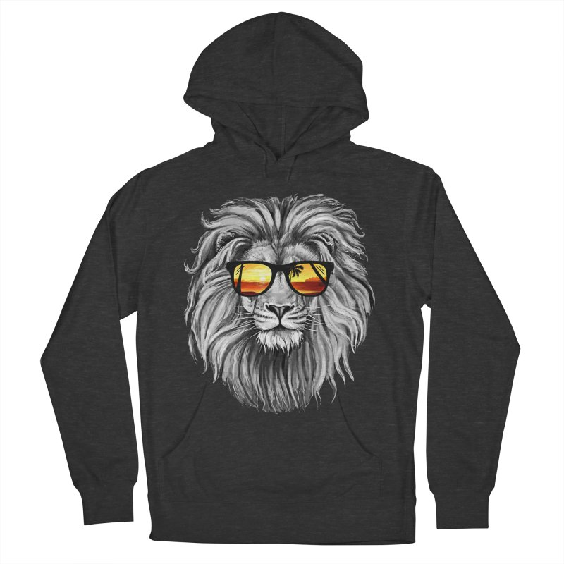 Summer Lion Men's Pullover Hoody by clingcling's Artist Shop
