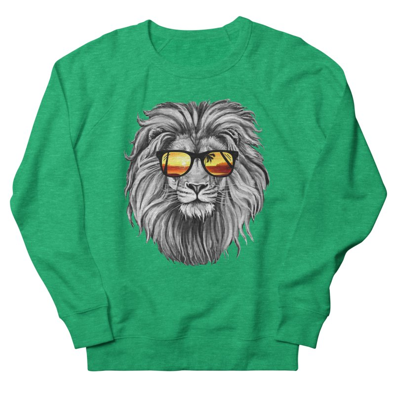 Summer Lion Women's Sweatshirt by clingcling's Artist Shop
