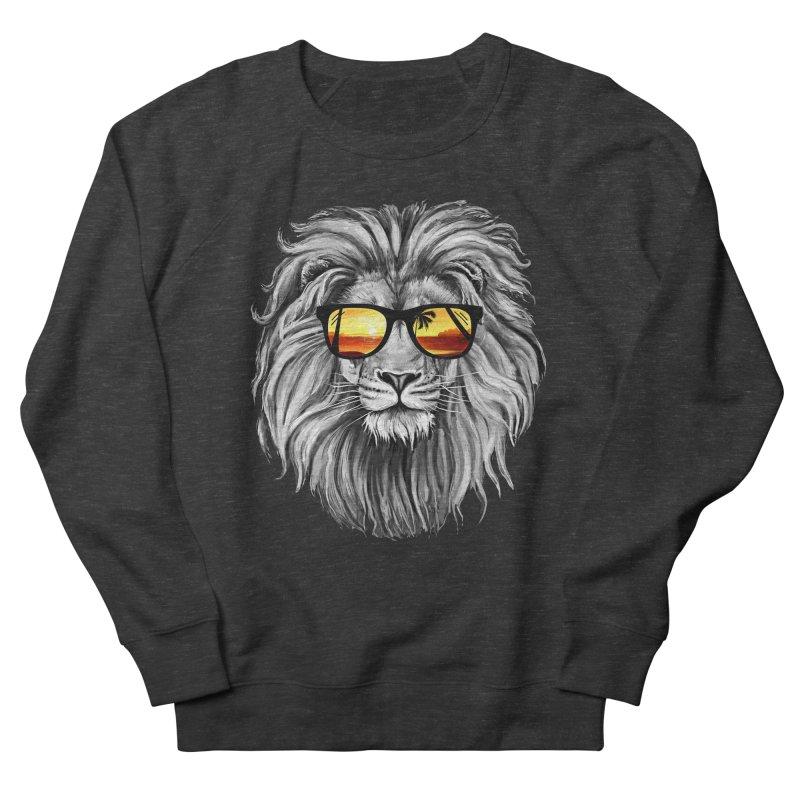 Summer Lion Men's Sweatshirt by clingcling's Artist Shop