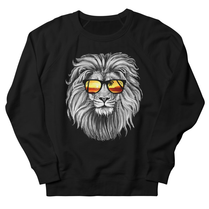 Summer Lion Men's Sweatshirt by clingcling's Artist Shop
