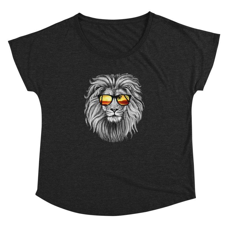 Summer Lion Women's Dolman by clingcling's Artist Shop
