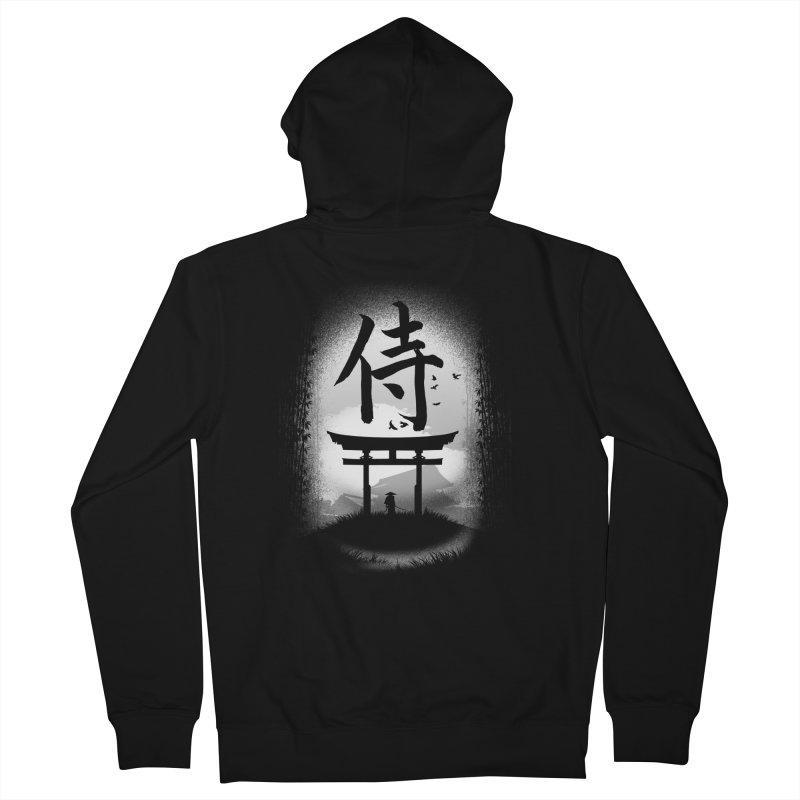 The Samurai Men's Zip-Up Hoody by clingcling's Artist Shop