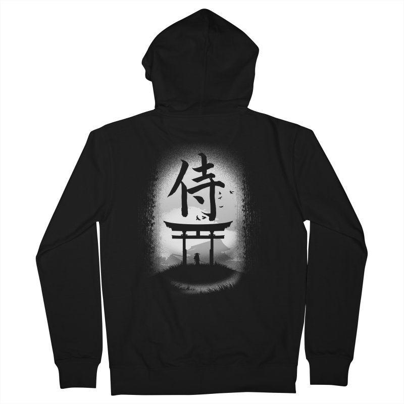 The Samurai Men's Zip-Up Hoody by clingcling's Artist Shop