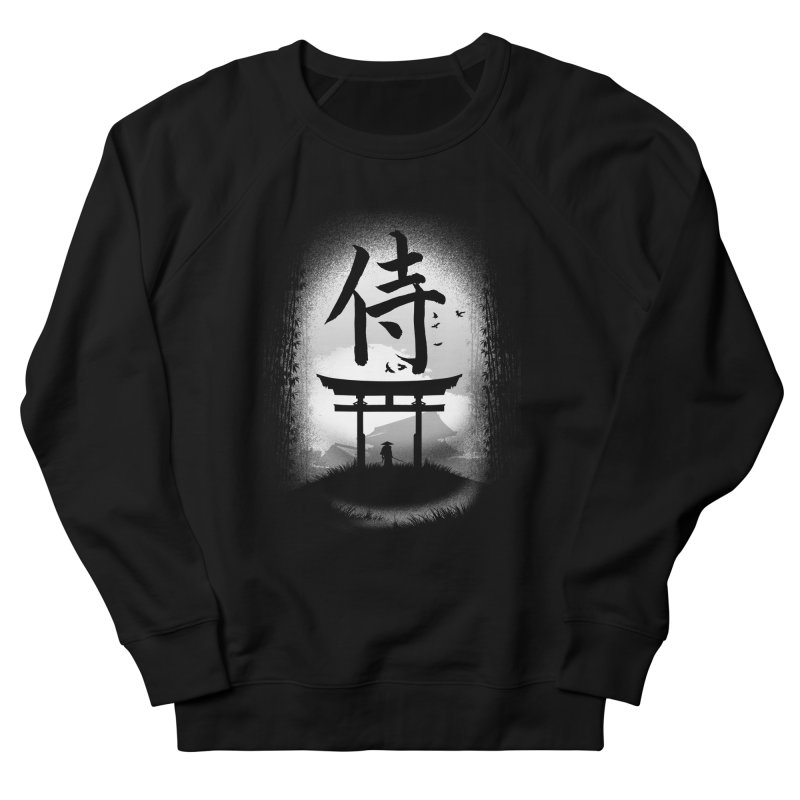 The Samurai Men's Sweatshirt by clingcling's Artist Shop