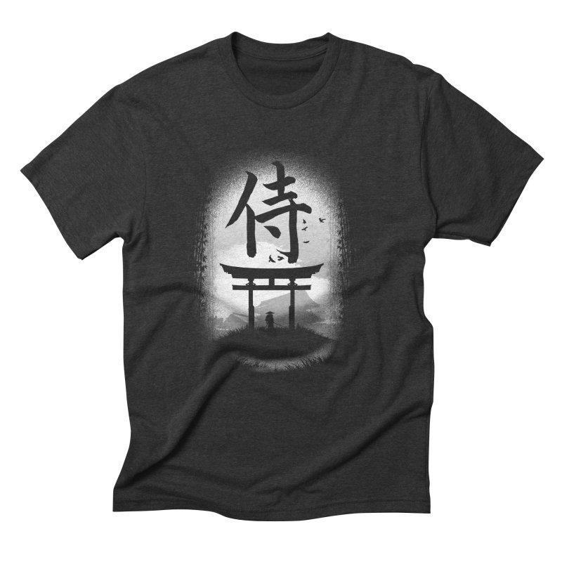 The Samurai Men's Triblend T-Shirt by clingcling's Artist Shop