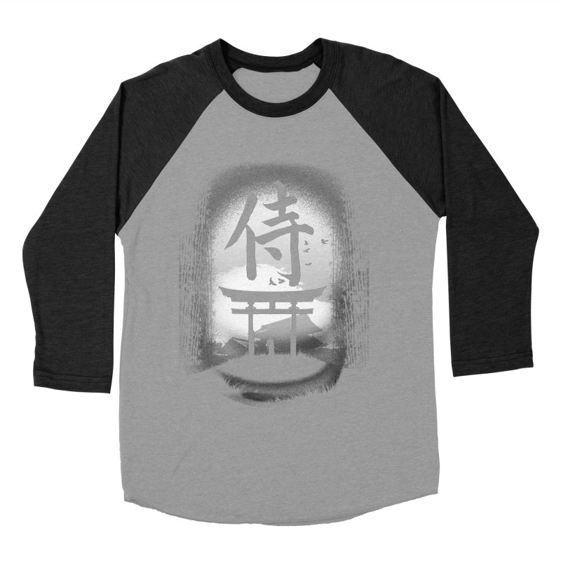 The Samurai Women's Baseball Triblend T-Shirt by clingcling's Artist Shop