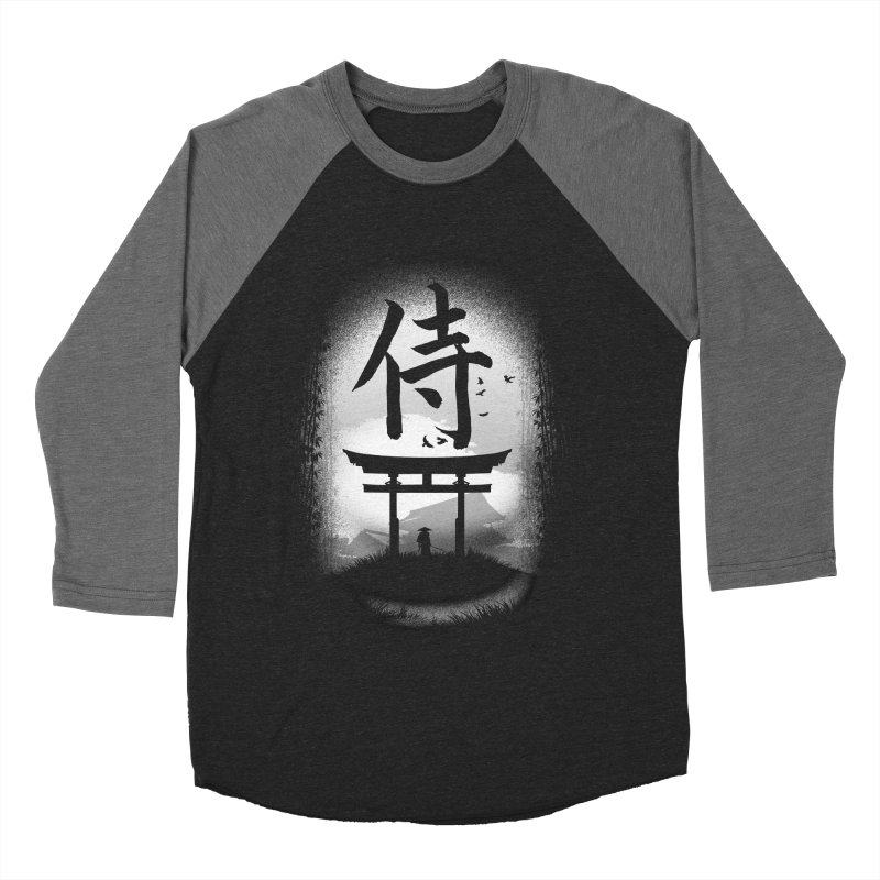 The Samurai Men's Baseball Triblend T-Shirt by clingcling's Artist Shop