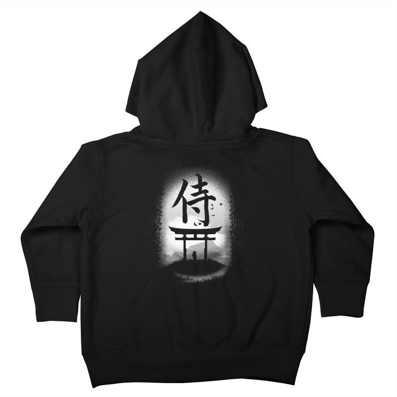 The Samurai Kids Toddler Zip-Up Hoody by clingcling's Artist Shop