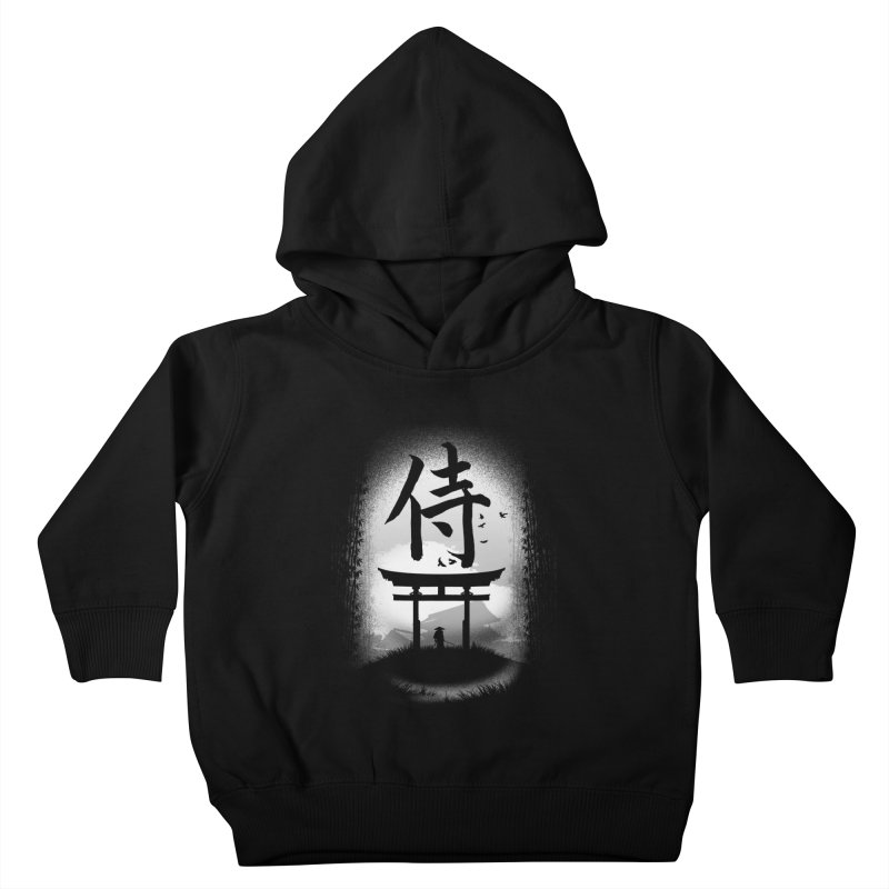 The Samurai Kids Toddler Pullover Hoody by clingcling's Artist Shop