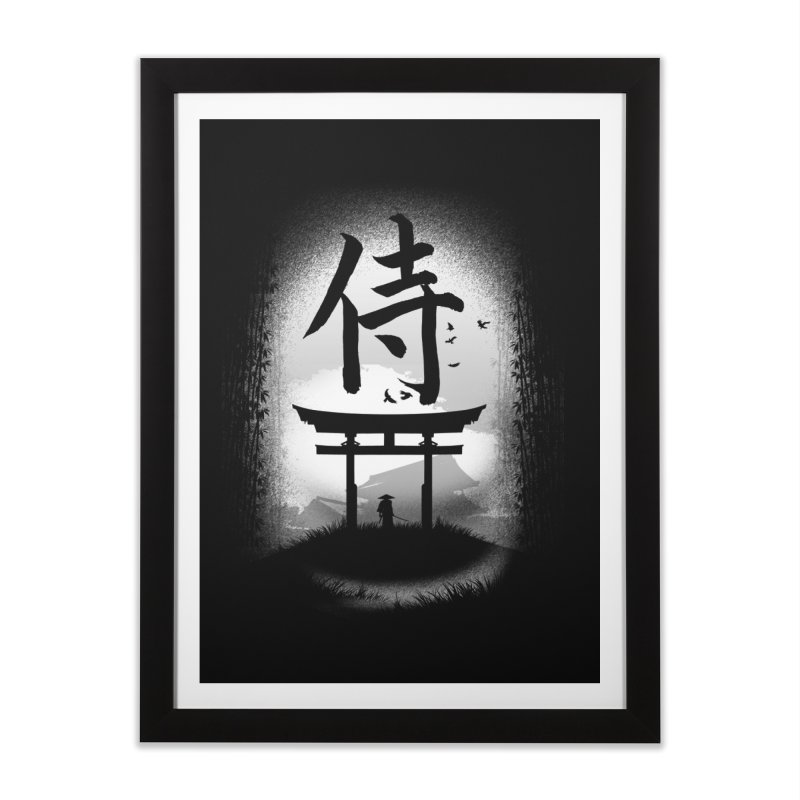 The Samurai Home Framed Fine Art Print by clingcling's Artist Shop