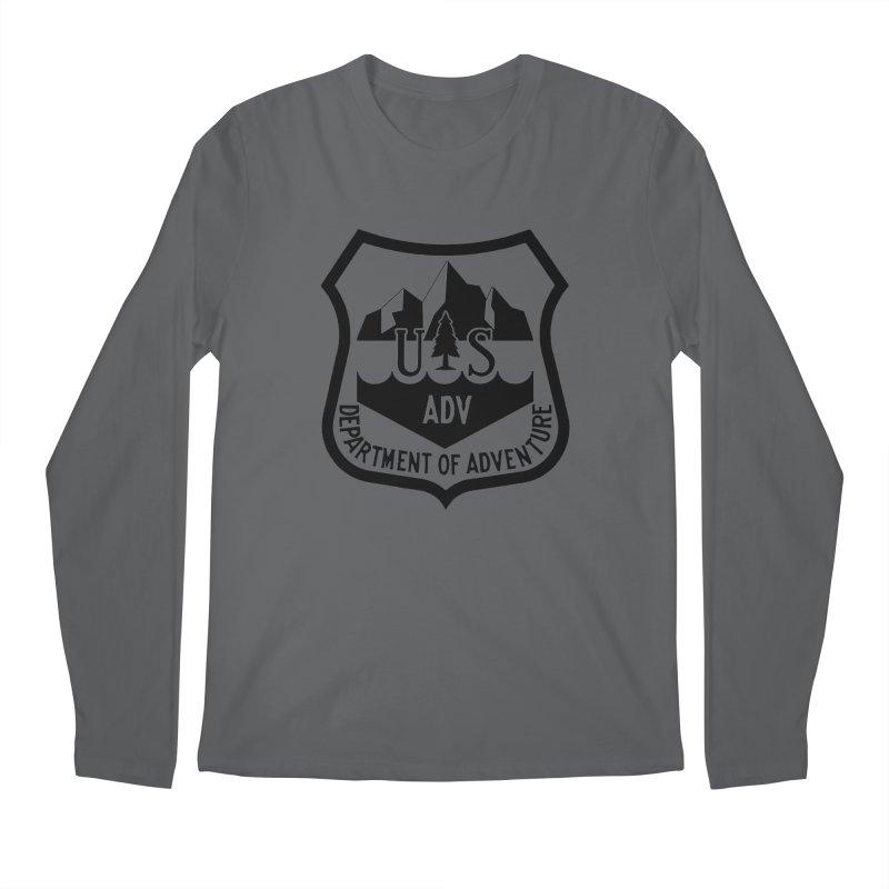 Dept. of Adventure - Alpine Men's Longsleeve T-Shirt by CLINTZERO ONLINE SHOP