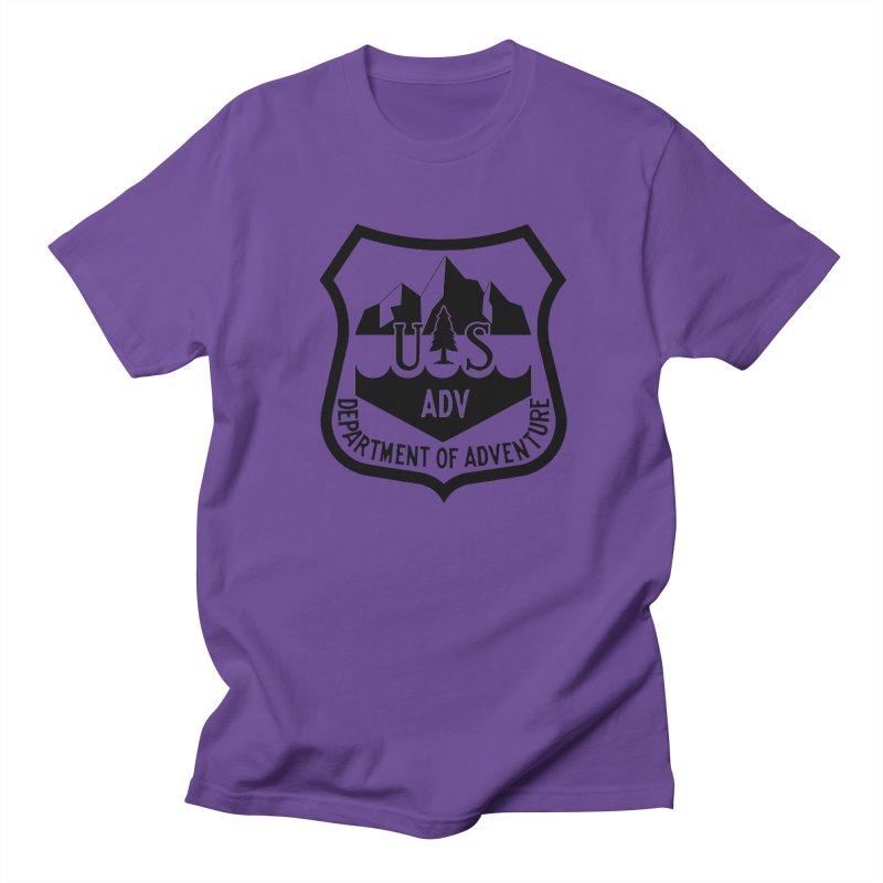 Dept. of Adventure - Alpine Men's Regular T-Shirt by CLINTZERO ONLINE SHOP