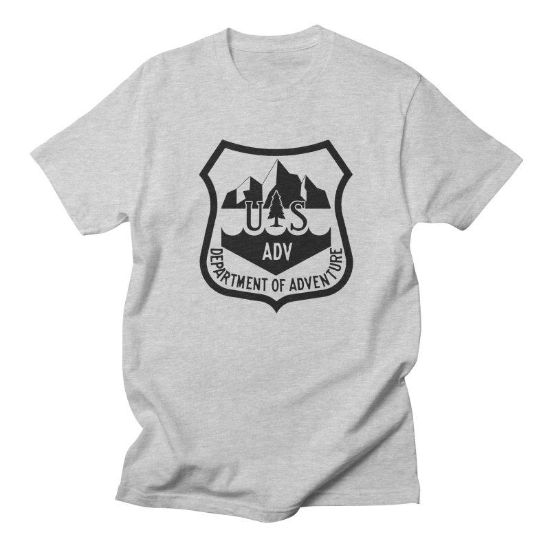 Dept. of Adventure - Alpine Men's T-Shirt by CLINTZERO ONLINE SHOP