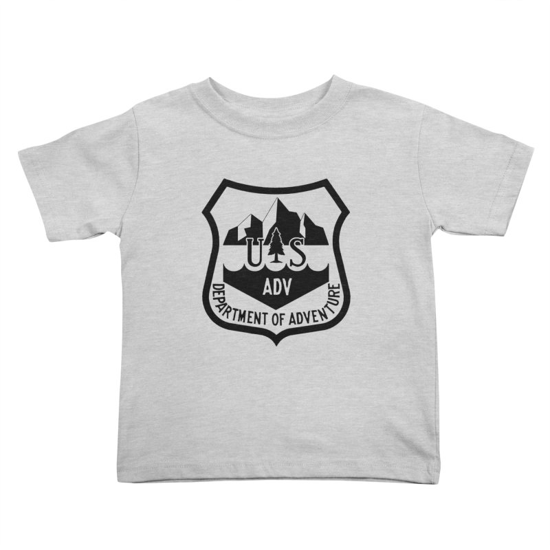 Dept. of Adventure - Alpine Kids Toddler T-Shirt by CLINTZERO ONLINE SHOP