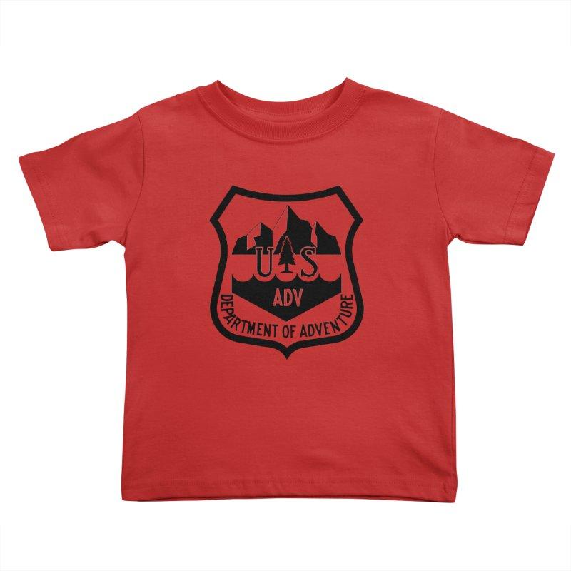 Dept. of Adventure - Alpine Kids Toddler T-Shirt by CLINTZERO ONLINE SHOP