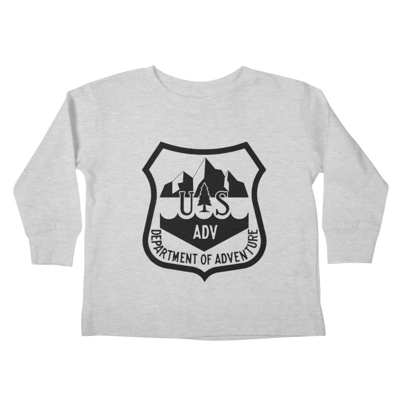 Dept. of Adventure - Alpine Kids Toddler Longsleeve T-Shirt by CLINTZERO ONLINE SHOP