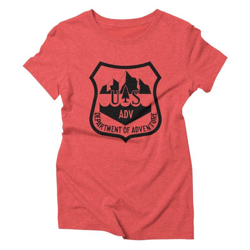 Dept. of Adventure - Alpine Women's Triblend T-Shirt by CLINTZERO ONLINE SHOP