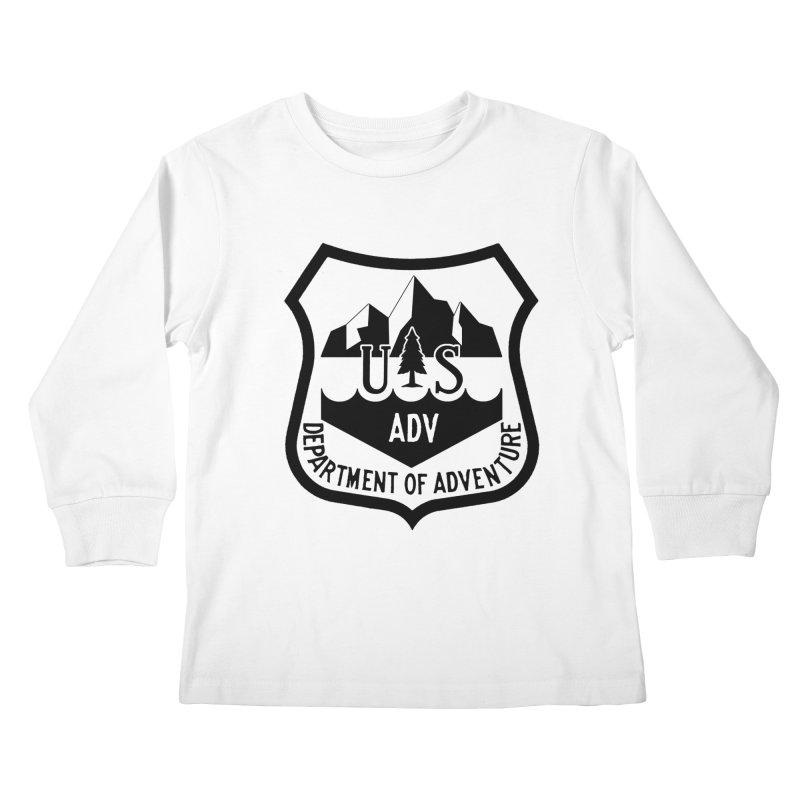 Dept. of Adventure - Alpine Kids Longsleeve T-Shirt by CLINTZERO ONLINE SHOP