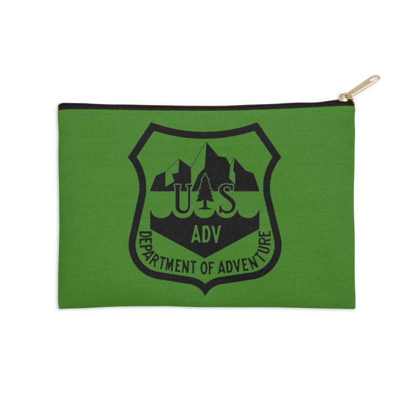 Dept. of Adventure - Alpine Accessories Zip Pouch by CLINTZERO ONLINE SHOP