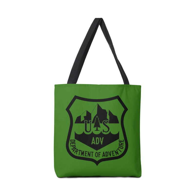 Dept. of Adventure - Alpine Accessories Tote Bag Bag by CLINTZERO ONLINE SHOP