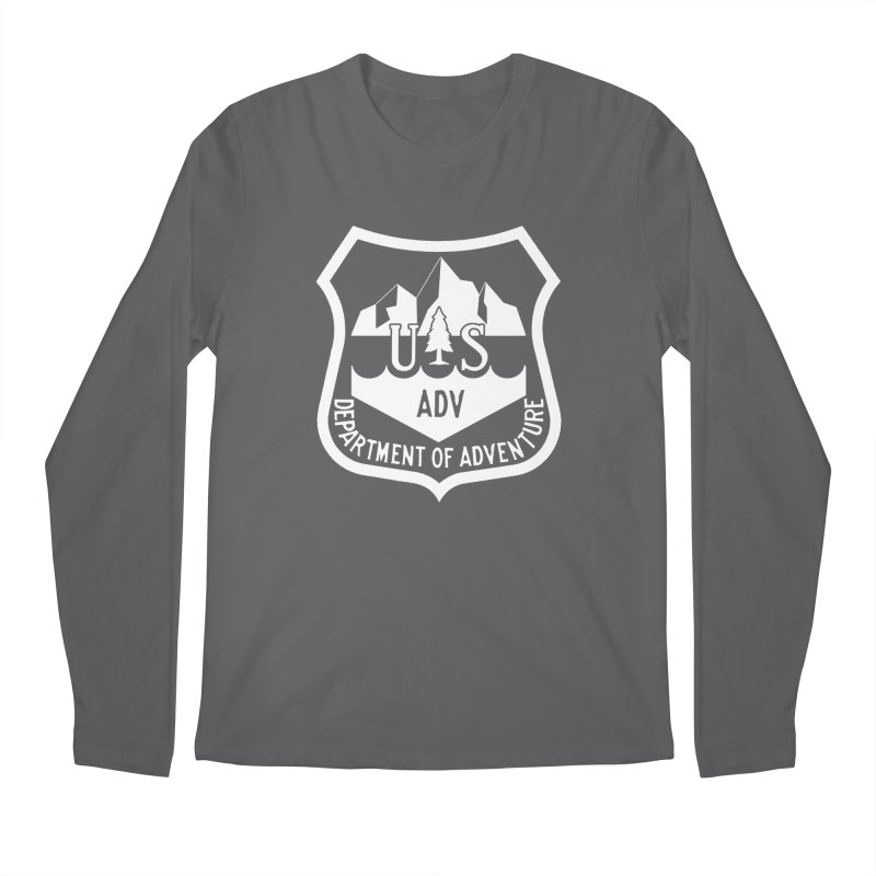 Dept. of Adventure - Alpine (Inverted) Men's Longsleeve T-Shirt by CLINTZERO ONLINE SHOP