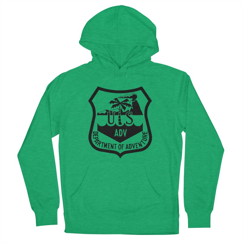 Dept. of Adventure - Tropical Women's Pullover Hoody by CLINTZERO ONLINE SHOP