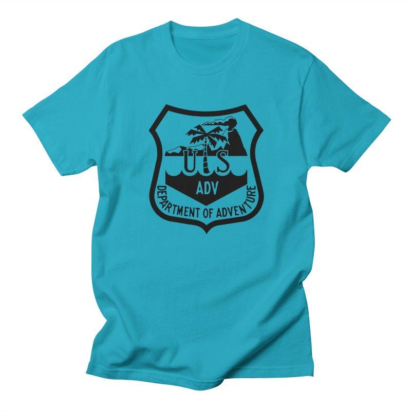 Dept. of Adventure - Tropical Women's Regular Unisex T-Shirt by CLINTZERO ONLINE SHOP