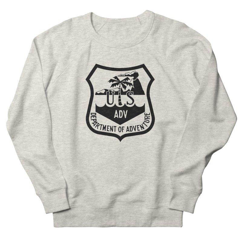 Dept. of Adventure - Tropical Women's Sweatshirt by CLINTZERO ONLINE SHOP