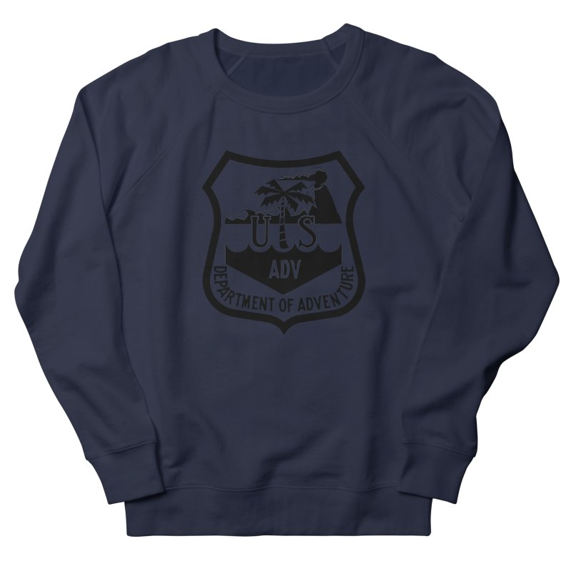 Dept. of Adventure - Tropical Men's French Terry Sweatshirt by CLINTZERO ONLINE SHOP