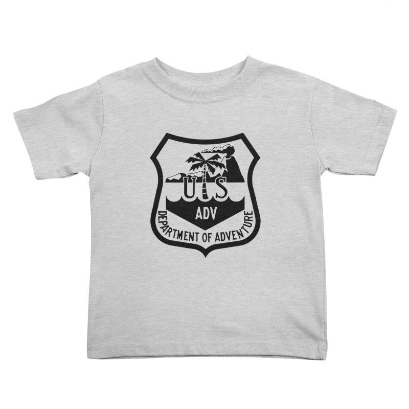 Dept. of Adventure - Tropical Kids Toddler T-Shirt by CLINTZERO ONLINE SHOP