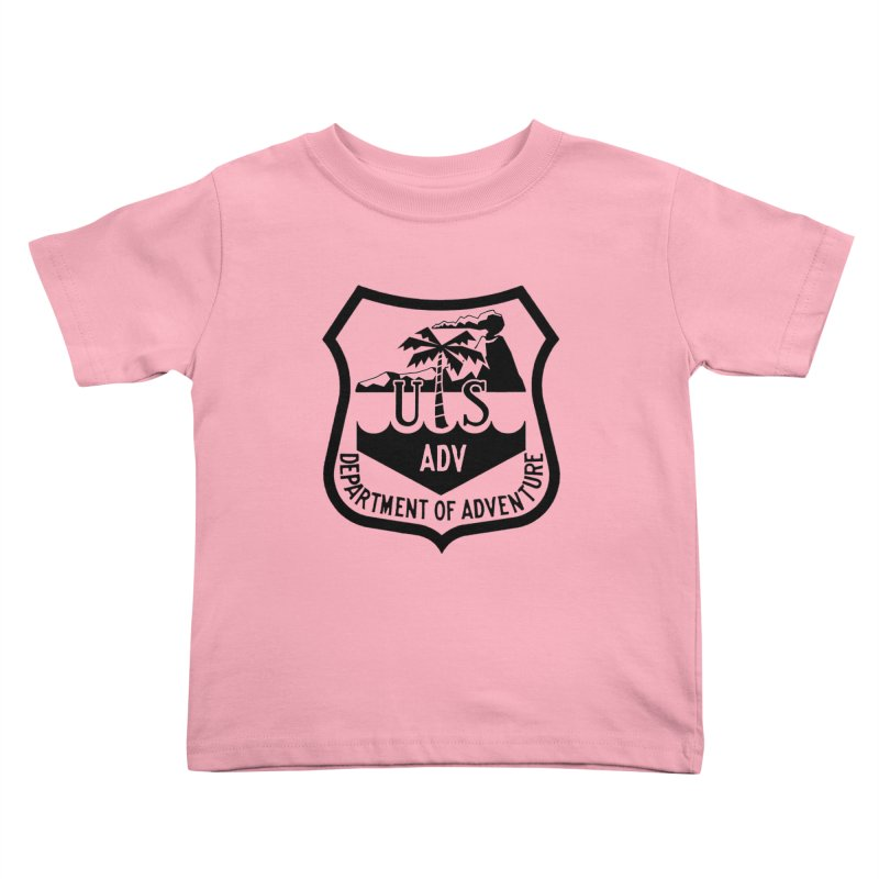 Dept. of Adventure - Tropical Kids Toddler T-Shirt by CLINTZERO ONLINE SHOP