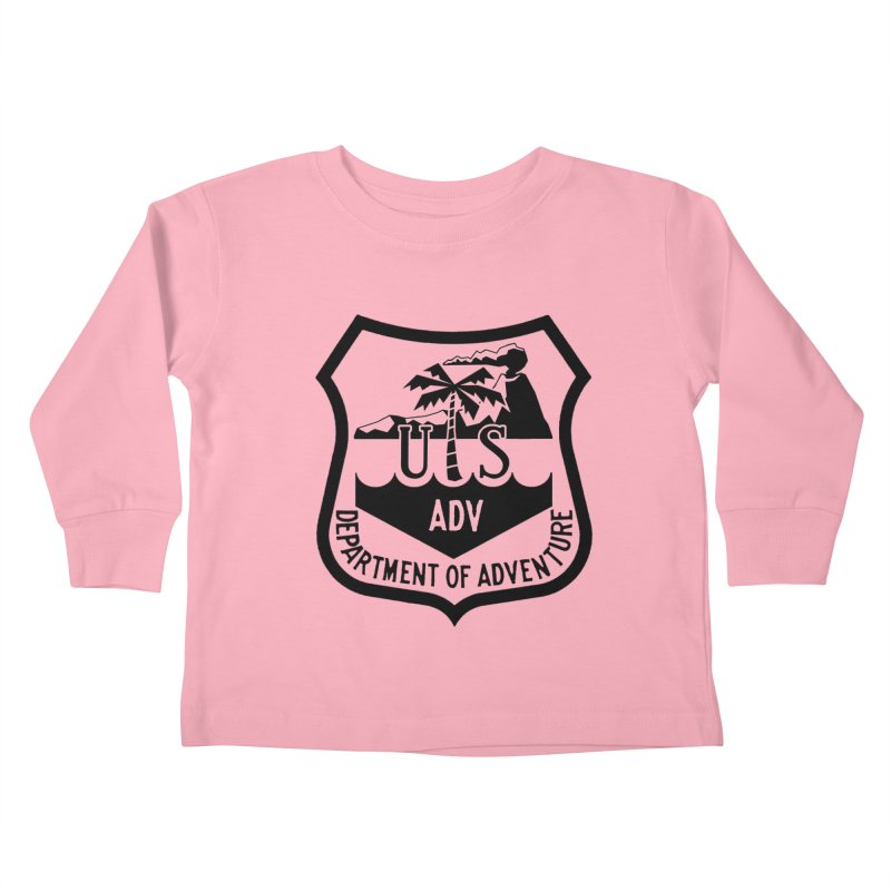 Dept. of Adventure - Tropical Kids Toddler Longsleeve T-Shirt by CLINTZERO ONLINE SHOP