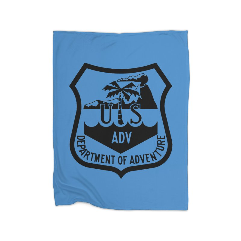 Dept. of Adventure - Tropical Home Blanket by CLINTZERO ONLINE SHOP