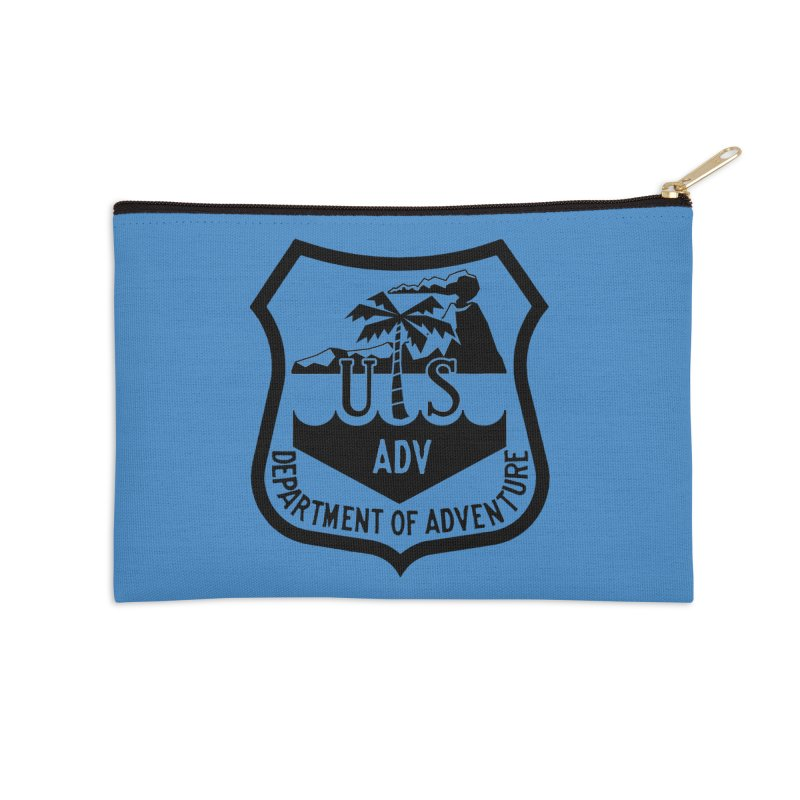 Dept. of Adventure - Tropical Accessories Zip Pouch by CLINTZERO ONLINE SHOP