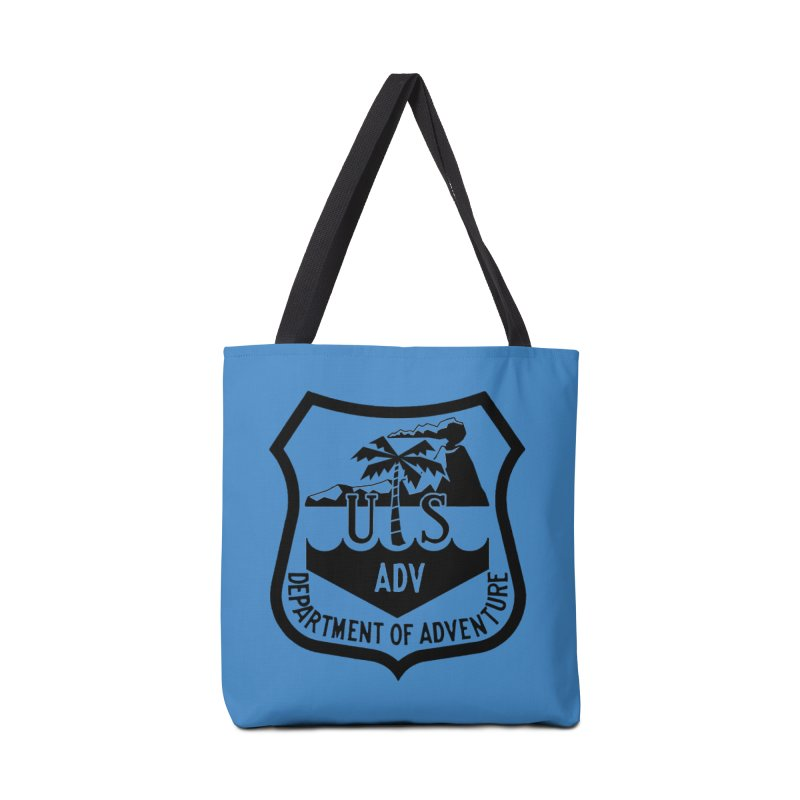 Dept. of Adventure - Tropical Accessories Tote Bag Bag by CLINTZERO ONLINE SHOP