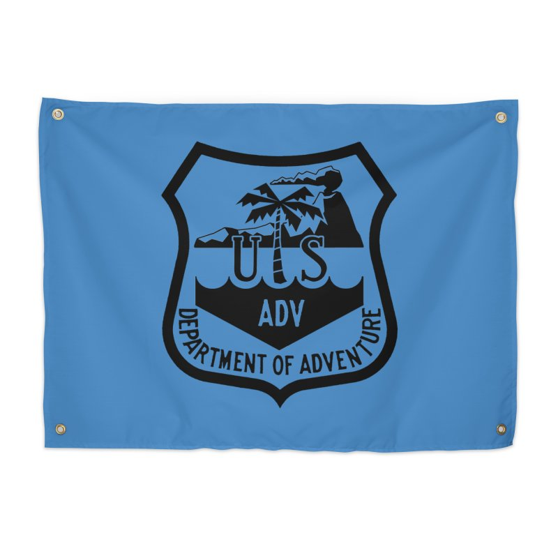 Dept. of Adventure - Tropical Home Tapestry by CLINTZERO ONLINE SHOP