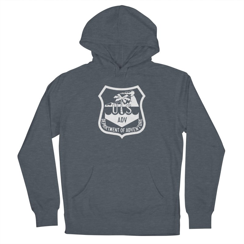 Dept. of Adventure - Tropical (Inverted) Women's French Terry Pullover Hoody by CLINTZERO ONLINE SHOP